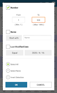 Batch File Selector | Bulk Rename | File Manager