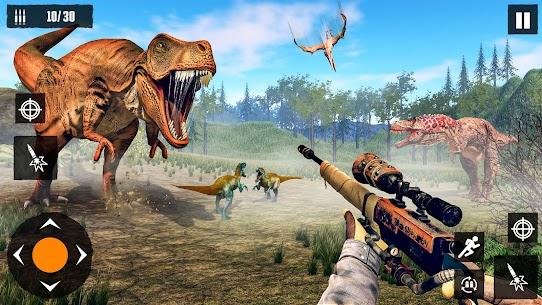 Dino Hunting Games 2021: Dinosaur Games Offline Mod Apk (God Mode) 9