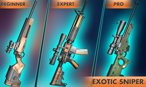 City Sniper Shooter Mission: Sniper Games Offline 1.3 screenshots 6