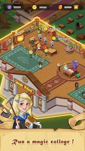 Idle Magic School – Wizard Simulator Game Apk Download 2021 4