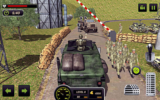 US Army Truck Driving 2018: Real Military Truck 3D apkpoly screenshots 5