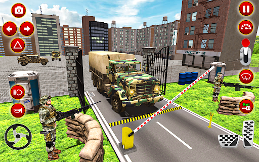 Army Truck Driver transport US Military Games 2021 screenshots 14