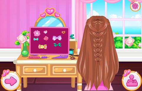 Princess Pony Hair Salon - Games Girls