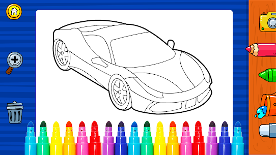 Free Learn Coloring amp  Drawing Car Games for Kids NEW 2021 **** 5
