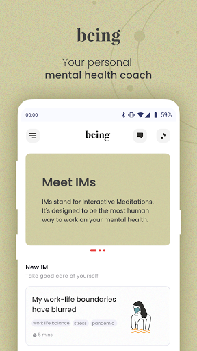 being: mindfulness, spirituality and wisdom screenshot 1
