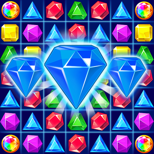 Jewel Crush™ - Jewels & Gems Match 3 Legend 4.6.1