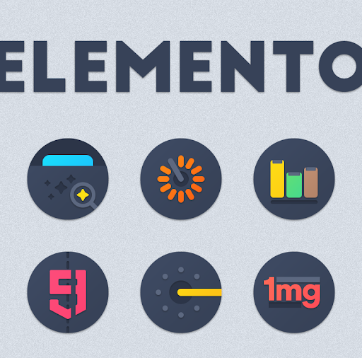 Download APK: ELEMENTO ICON PACK v1.0.5 [Patched]
