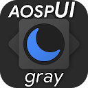 aospUI Gray, Substratum Dark theme+Samsung,Synergy
