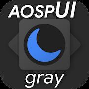 aospUI Gray, Substratum Dark theme+Samsung,Synergy  Icon