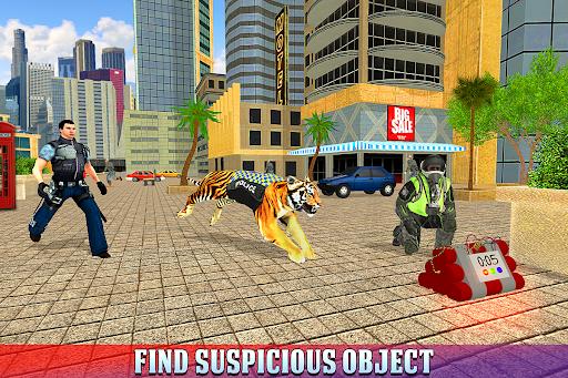 Police Tiger Chase Simulator: City Crime Apkfinish screenshots 15