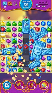 Jewel Witch - Best Funny Three Match Puzzle Game Screenshot