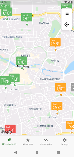 Gas Prices (Germany) 5.1.0 Screenshots 2
