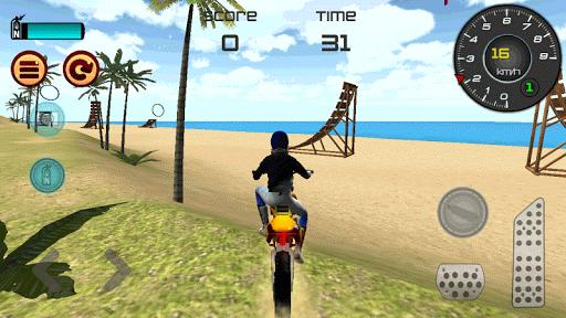 Motocross Beach Jumping 3D apkdebit screenshots 3