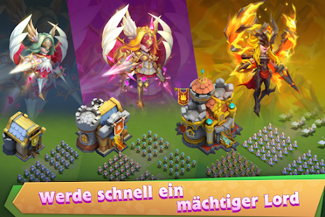 Castle Clash: King's Castle DE screenshots 18