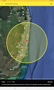 My Lightning Tracker Pro – Live Thunderstorm Map 5