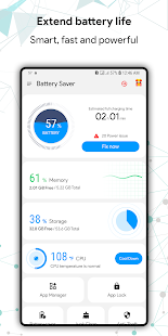 Green Battery Saver, Super Cleaner, App Lock