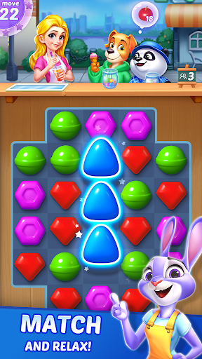 Candy Puzzlejoy - Match 3 Games Offline  screenshots 1