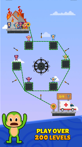 Monkey Rescue Puzzle 1.0.2 screenshots 2