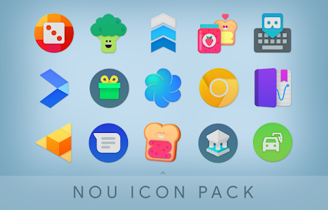 NOU – Ultimate Material Icon Pack Patched APK 2