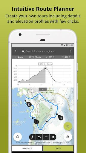 Outdooractive: Hiking & Biking Trails, GPS & Maps 3.3.28 Screenshots 3