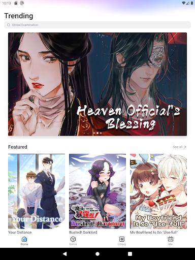BILIBILI COMICS - Read Manga/Manhua/Comics/Manhwa  screenshots 7