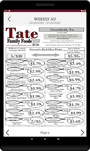 Tate Family Foods