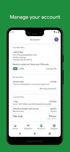 Google Fiber android2mod screenshots 3