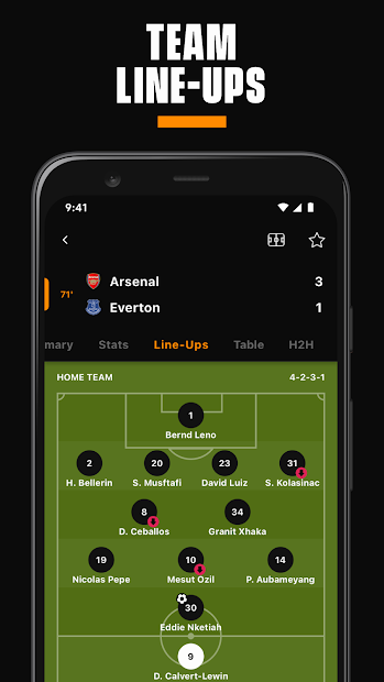 LiveScore: Live Sports Scores screenshot 2