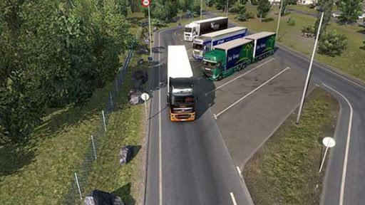 Euro intercity Transport Truck Similator 2021 apkdebit screenshots 5