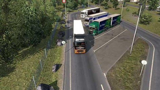 Euro intercity Transport Truck Similator-2021 5