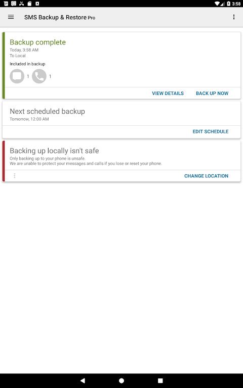 SMS Backup & Restore Pro  poster 8