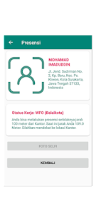 Image For SiPedro - Absensi Pegawai by Android - Fingerprint Versi 1.2 7