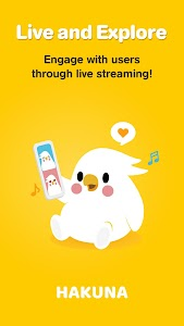 Hakuna: Live Stream, Meet and Chat, Make Friends 1.34.2