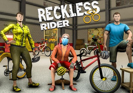 Reckless Rider- Extreme Stunts Race Free Game 2021 Screenshot