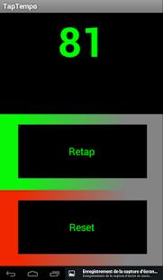 Tap Tempo Capture d'écran