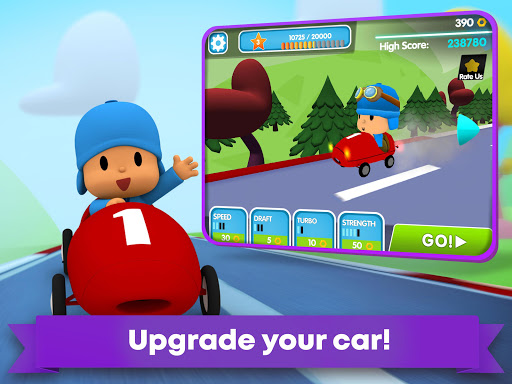 Pocoyo Racing: Kids Car Race - Fast 3D Adventure  screenshots 12
