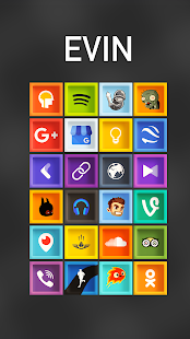 Evin - Icon Pack Screenshot