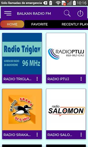 balkan radio fm screenshot 2