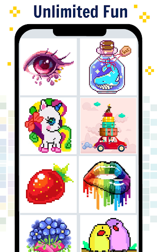 Pixel Art Color by number - Coloring Book Games 2.2 screenshots 9