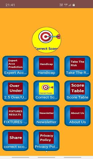 correct score football prediction  screenshots 1