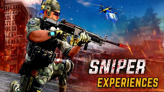 Sniper game Shooter MOD Apk: shooting games: 3D sniper 3
