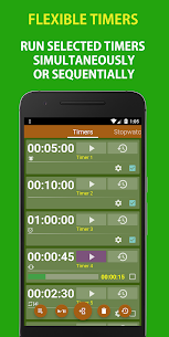 Multi Timer and Stopwatch Free 4.5 Mod + APK + Data UPDATED 2