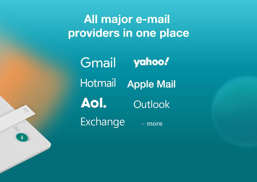 Email Aqua Mail - Exchange, SMIME, Smart inbox poster 10