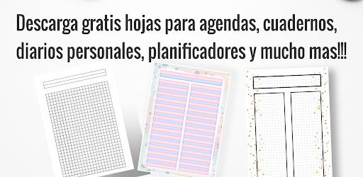 Agendas y cuadernos APK 0