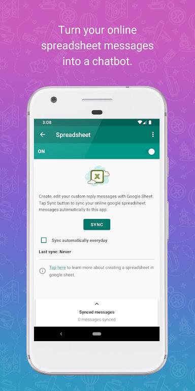 WhatsAuto - Reply App  poster 3