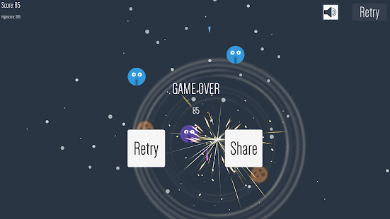 Space Monster - 2D shooter Screenshot