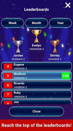 Millionaire 2020 -  Free Trivia Quiz Offline Game 1.5.3.3 Screenshots 11