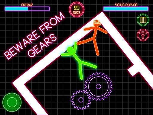 Stickman Fighting: 2 Player Funny Physics Games  screenshots 8