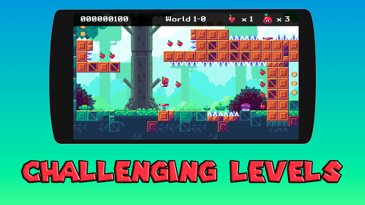Appfy 2D Adventure - Hard one tap jump and run 1.2 screenshots 2