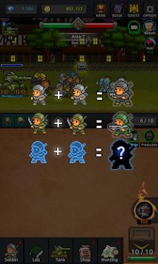 Grow Soldier(ソルジャー育てる) - アイドルマージゲームのおすすめ画像2